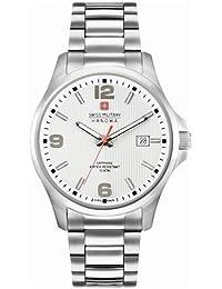 Swiss Military Hanowa – Reloj analógico de Cuarzo con Correa de Acero Inoxidable ...
