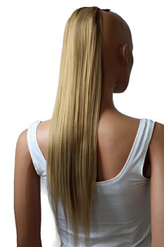 hairpiece Zopf Pferdeschwanz Haarverlängerung 60cm glatt diverse Farben HC23 ()
