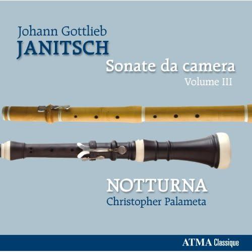 Janitsch: Sonate da camera, Vol. 3