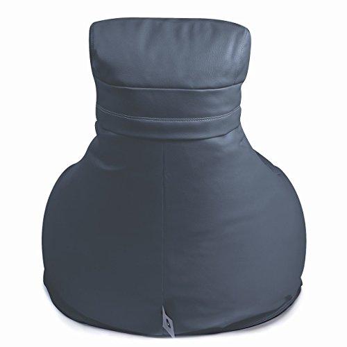 Design Outbag in tessuto sedia sedile Slope 85 x 85 cm plastica colore a scelta antracite Plastica