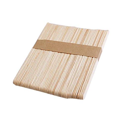 ach Holz Stick Eiscreme DIY Gebäude Modell - Holz Farbe, 114 x 10 x 2 mm ()