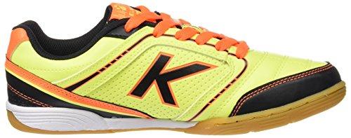 Kelme K-Goleiro Indoor, Chaussures de Football en Salle Homme Jaune - citron vert