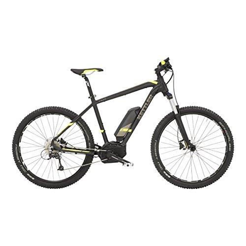 Preisvergleich Produktbild Kettler He Hardtail MTB E-Bike,  Mittelmotor 36V / 250W 27, 5 Zoll 9 Gg. Shimano Deore,  Freilauf,  »E-Blaze GO HT«