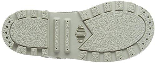 Palladium Unisex-Kinder Baggy Zipper Ii Schneestiefel Grau (Concrete/Silver Birch)