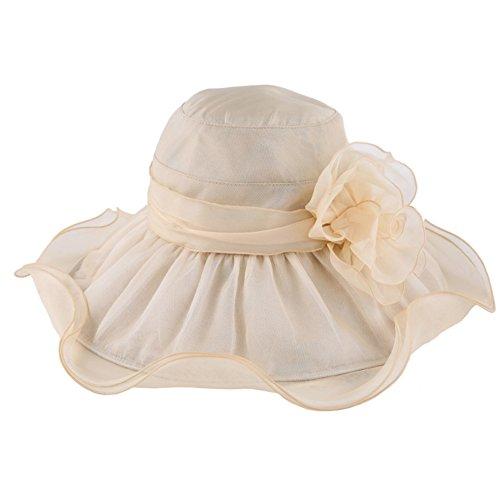Chapeau de soleil/Soleil de chapeaux de protection UV/Chapeau de soleil pliable/Chapeau de plage vacances B