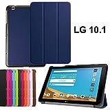 asng LG G Pad X 10.1Case-Ultra Slim Leicht Standing Cover für LG G Pad 225,7cm (V940)/LG G Pad X 25,7cm (4G LTE at und T V930) Android 2015Tablet Drak Blue