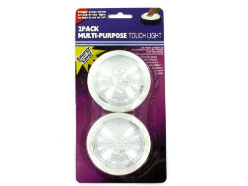 (Bulk Buys mt558Mehrzweck-Touch Lichter, transparent, weiß)