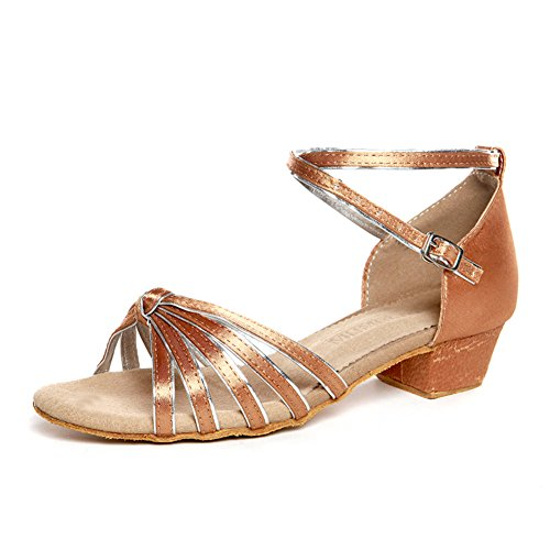 latino scarpe per bambini/ Lady shoes/Square dance scarpe per ragazze/ danza scarpa pratica X