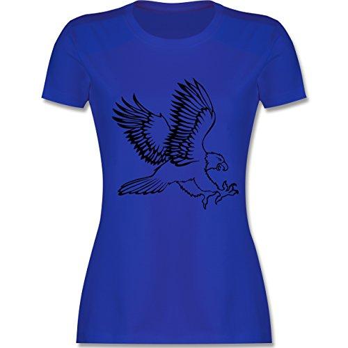 Vögel - Adler - tailliertes Premium T-Shirt mit Rundhalsausschnitt für  Damen Royalblau