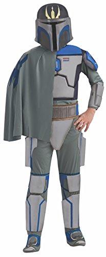 Vizsla Kostüm Pre - Star Wars Deluxe Kinder Kostüm Pre Vizsla Größe - 116 cm