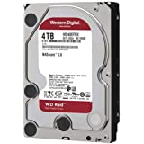 "WD Red WD40EFAX Disco duro 3.5"" para dispositivos NAS 5400 RPM Class 4TB, SATA 6 Gb/s, CMR, 64MB Cache, Rojo"