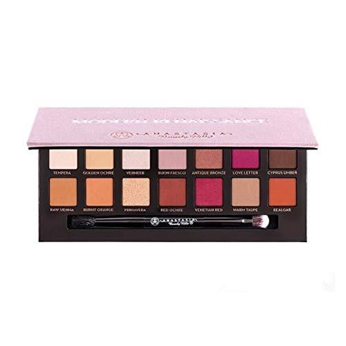 Heaviesk 14 Farben Lidschatten Puder Make-Up-Palette Pigment Glitter Schimmernde Matte Lidschatten Set Kosmetik Kit Mit Pinsel