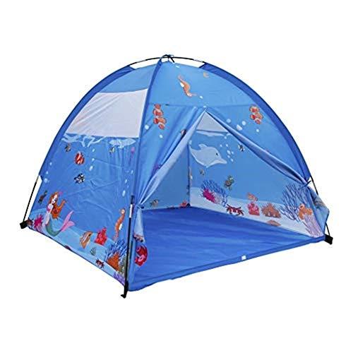 DSRC Outdoor-Zelt Kinderzelt Indoor Junge Mädchen Spielzeug Spielzimmer Outdoor Eltern-Kind-Kind-Zelt Dreiteilig -