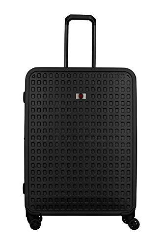 Wenger Matrix Reisekoffer - Trolley Hartschale TSA-Schloss erweiterbar abnehmbare Wäschetasche - Schwarz