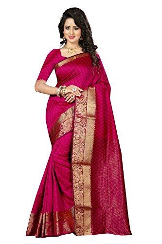 J B Fashion Women's Cotton Silk Saree With Blouse Piece (Sarees For...