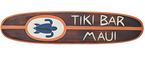 Tiki-Bar-Surf-100-cm-Hawaii-decoracin-colgante-de-Maui-Kaui-tabla-de-surf