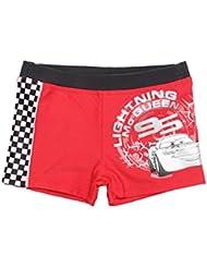 Boxer de bain enfant garçon Disney Cars Marine et Rouge de 3 à 8ans