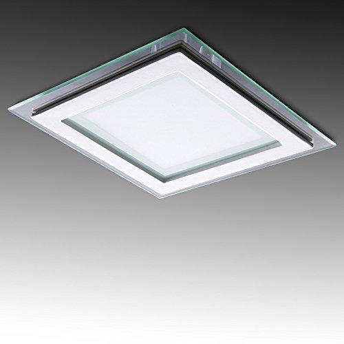 Greenice | Foco Downlight LED Cuadrado con Cristal 200X200Mm 15W 1150Lm 30.000H...