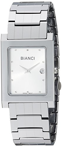 ROBERTO BIANCI WATCHES Women's 'Classico' Swiss Quartz Stainless Steel and Tungsten Casual Watch, Color:Silver-Toned (Model: RB90630)