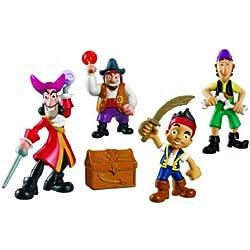Juguete de Jake y los piratas, pandilla de piratas.