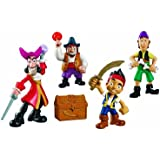 Fisher-price - Jake et les Pirates - X5182 - Pack Deluxe Figurines Jake
