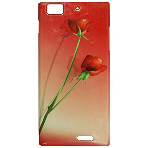 Casotec Red Roses Design 3D Printed Hard Back Case Cover for Lenovo K900  available at amazon for Rs.149