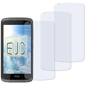 3 x Displayschutzfolie matt/entspiegelnd für HTC Desire 526G Dual Sim