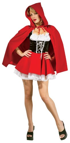Rubie's 888626 - Red Riding Hood Kostüm, Größe (Halloween Kostüme Riding Red)