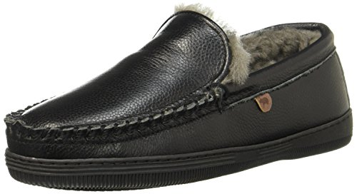 Nero grana Warmbat Uomo Pantofole Nero Grizzly O8Ww8qC0t