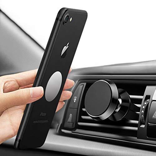 tonitott Handyhalterung Auto Magnet, kfz Handyhalter Magnetic 360 Grad Rotation Starke Magnetkraft Universal Smartphone Halterung Auto für iPhone, Samsung, Huawei, LG,HTC, Google, Nexus