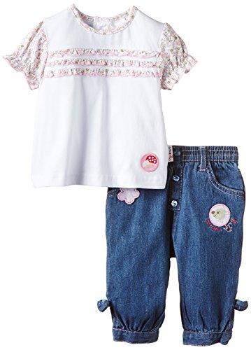 julius-hupeden-baby-madchen-bekleidungsset-kleines-rehkitz-mit-t-shirt-und-jeans-gr-62-mehrfarbig-de