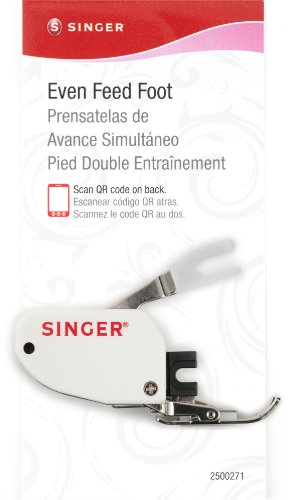 SINGER Even Feed Walking Presser Foot for Quilting or Thick Fabric Sewing on Low-Shank Sewing Machines by Singer Sewing Co.