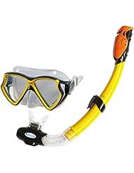 Intex Aqua Pro Swim - Set de buceo, color amarillo