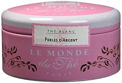 LE MONDE DU THE Thé Blanc Perles d'Argent 100 g