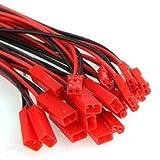 10 Paare JST Kabel, Shsyue 2 Pin RC Adapterkabel Männlich + Weiblich 5.9
