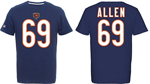 NFL Football T-Shirt CHICAGO BEARS Jared Allen #69 Eligible Receiver in XXL (Bears Nfl)
