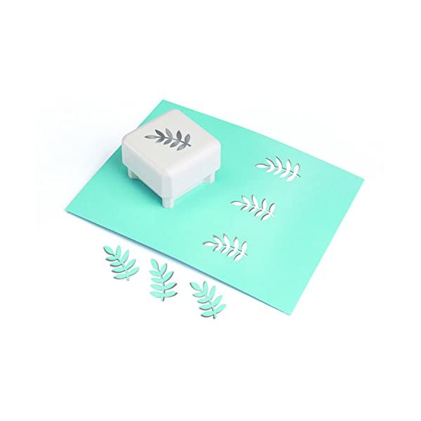 """41G5GrjGxQL. SS600  - Martha Stewart Punch All Over The Page Punch-Frond, 1.5"""""""