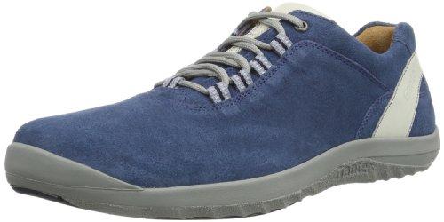 Ganter Barefoot Weite G 7-251312-32040 Herren Schnürhalbschuhe Blau (blue/offwhite 3204)
