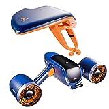 WINDEK Sublue WhiteShark Mix Unterwasser Scooter Tauchscooter mit Action Kamera Halterung, Doppelmotor, 40m Wasserdichter Elektroroller für Wassersportarten, Tauchen, Schnorcheln und Seeabenteuer