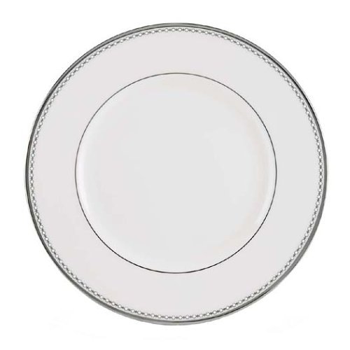 Lenox Pearl Platinum Bone China Dinner Plate by Lenox Lenox Pearl Platinum Bone China