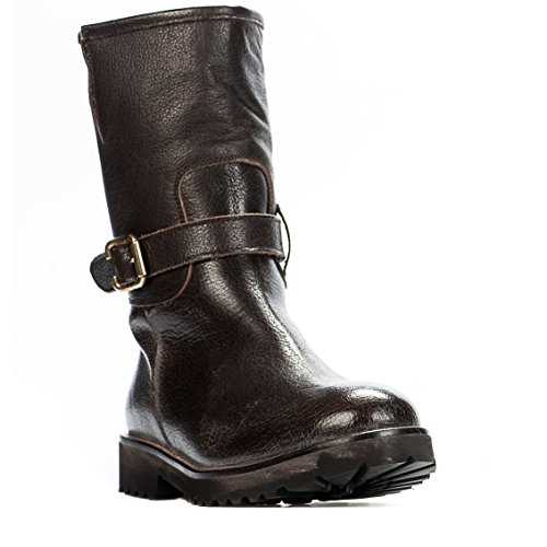 HIP Boots Femme Marron - D2167 - Millim Marron