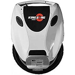 Monociclo eléctrico Kingsong ks-18, color blanco