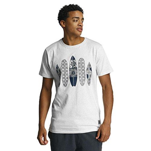 Just Rhyse Summerland Herren T-Shirt Weiß Weiß