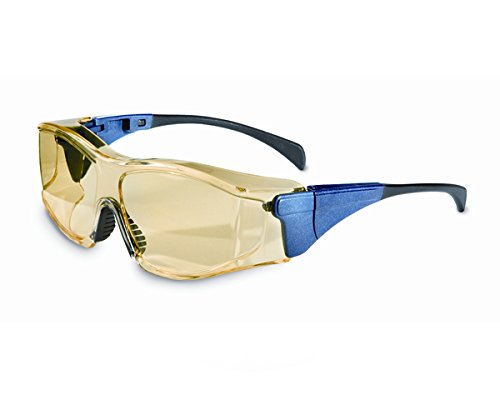 Honeywell 1027610 Overspec Blue, Amber Fog Ban Large Safety Goggles