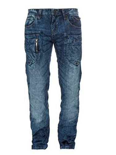 M.O.D. Herren Jeans Danny - Comfort Fit - Blau - Trinidad Blue, Größe:W 31 L 34;Farbe:Trinidat Blue (1750)
