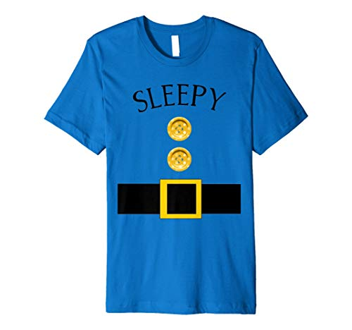 Cute Sleepy Halloween Gruppe Kostüm T-Shirt | Team Tees
