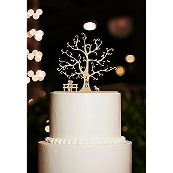 Petegray Romantischer Herz Baum Kuchen Dekoration Mit Und Fur Die