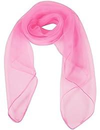 TRIXES Pañuelo de cuello rosa años 50 de señora con lazo tipo caniche, accesorio de día (estética Grease)
