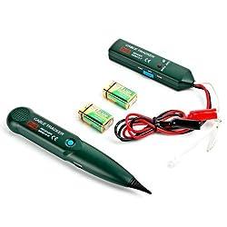 Kabelsucher Leitungssuchgerät Kabeltester Cabel Tracker Leitungssucher Durchgangsprüfer Telefonleistungstest Netzwerktester