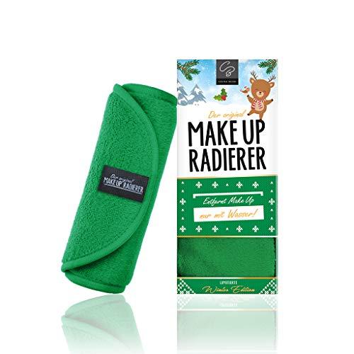 Der original MakeUp Radierer Microfaser Abschminktuch (Tuch | 1 Stück, Grün) -